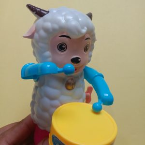 Goat Playing Drummer Toys for Kids