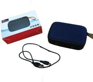 Black Portable Bluetooth Speaker Tablepro MG2 Music Player mp3 Stereo Audio FM Radio
